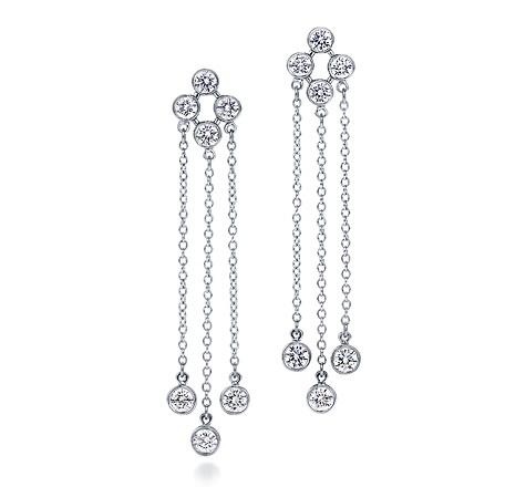 Tiffany Swing Triple drop earrings