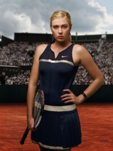 SHarapova Nike Paris dress