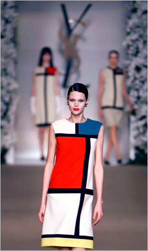 Yves St. Laurent Mondrian Collection