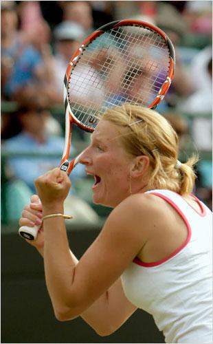 Alla Kudryavtseva Wimbledon 6.26.08