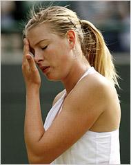 Sharapova Wimbledon \'08