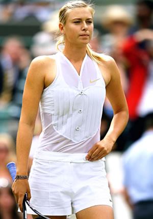 Maria Sharapova Tennis Tuxedo Wimbledon