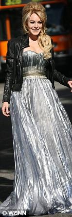 Nina Ricci Gown #1 Lindsay Lohan