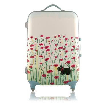 Radley Poppies Medium Suitcase