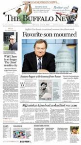 Buffalo News Front Page 6/14/08