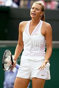Sharapova Wimbledon 6.26.08