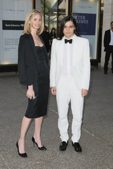 Lauren Santo Domingo and Olivier Theyskens at ABT Gala