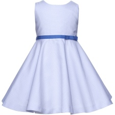 Best & CompanY Blue Pique Girls Dress