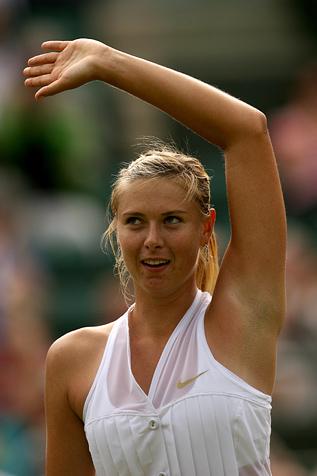 Sharapova Wimbledon 2008