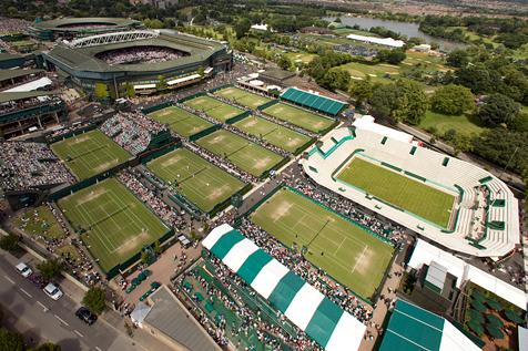 Wimbledon Aerial