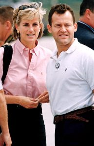 Princess Diana & Paul Burrell