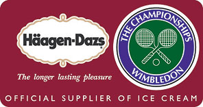 Wimbledon Logo with Haagen Dazs