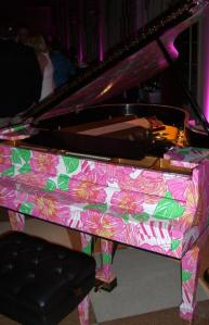 Lilly Pulitzer Steinway 50th Anniversary Lubliee Piano