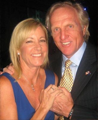 Chris Evert - Greg Norman Wedding
