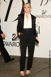 Asley Olson in Calvin Klein at CFDA Awards YSL Tribute