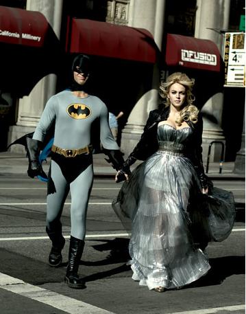 Lindsay Lohan in Nina Ricci SATC SJP Gown