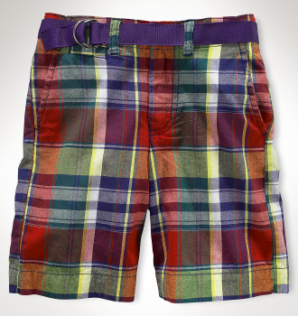 Polo Ralph Lauren Madras Boys shorts