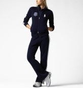 The Wimbledon Fleece Track Jacket polo