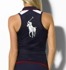 Ralph Lauren RLX Tennis US Open Ball Girl Polo