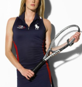 RLX Tennis Ralph Lauren US Open Ball Girl Polo