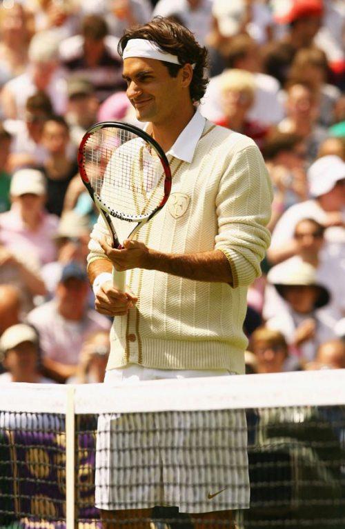 2008 Wimbledon roger federer sweater #1