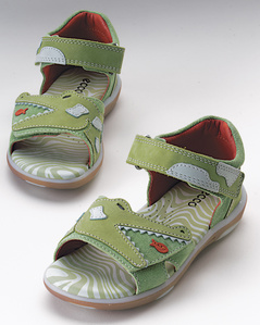 Garnet Hills Kids ECCO Alligator Sandals