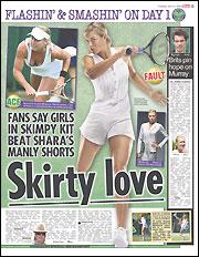 Sun Cover Wimbledon 6.25.08