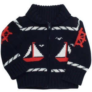 Best & Co. Infants Sailor Cardigan