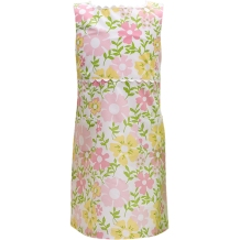 Best & Caompany Floral Printed Shift Dress with Ric Rac Trim