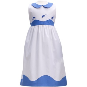 Best & Co.  Dolphin Embroidered Dress