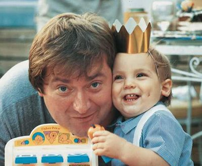 Tim Russert at Luke\'s 1st Birthday