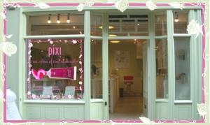 Pixi Cosmetics Home Page