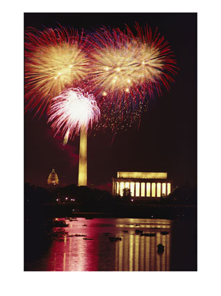 July 4th Fireworks over the Potomac