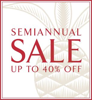 Williams Sonoma Home Sale