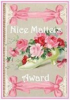 Nice Matters Blogging Award