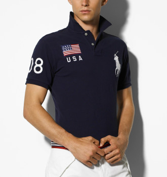 Polo Ralph Lauren Slim Custom-Fit USA 08 Polo
