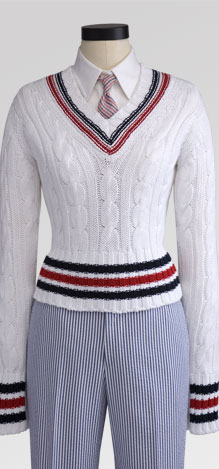 brooks brothers Black Fleece Cricket Sweater