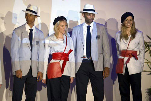 French Olympic Uniforms Revealed