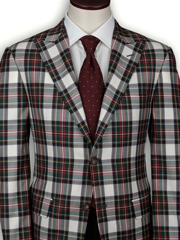 Hickey Freeman Men's Holiday Plaid Sportcoat (on sale)