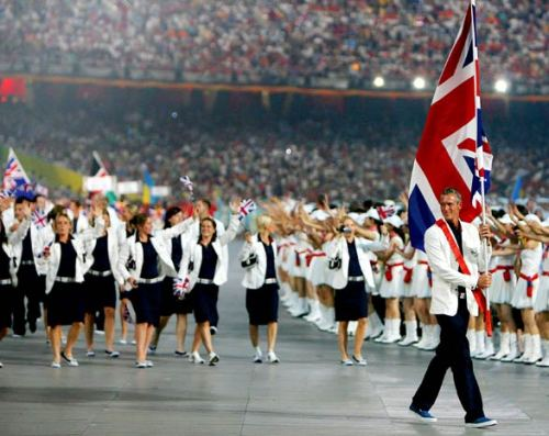 Great Britain Opening Ceremony 2008 Beijing Games
