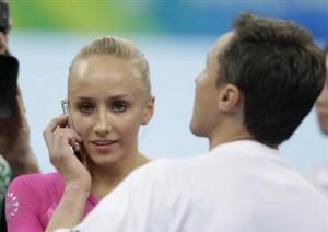 Gold Medalist Nastia Liukin Calls Mom
