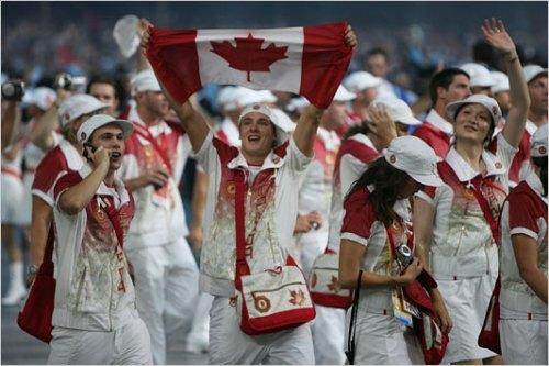 Parade of Athletes - Canada
