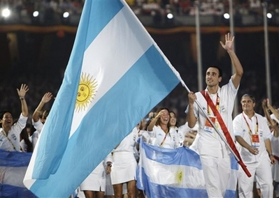 Parade of Athletes - Argentina