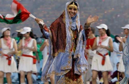 Oman Opening Ceremony 2008 Beijing Olympics