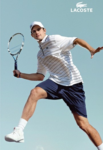 Let's talk about this latest Andy Roddick look from Lacoste.