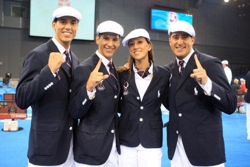 Lopez Family Opening Ceremony Beijing 2008 Olympic Games