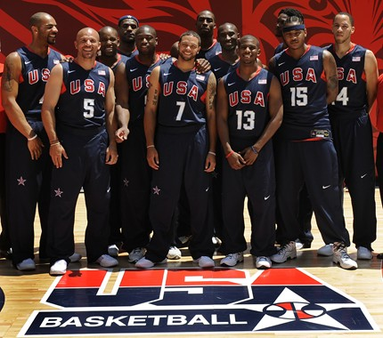 US Men's Olympic Basketball Team