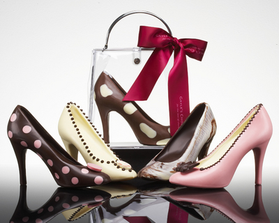Chocolate Gift Shoes from Gayle's Chocolates