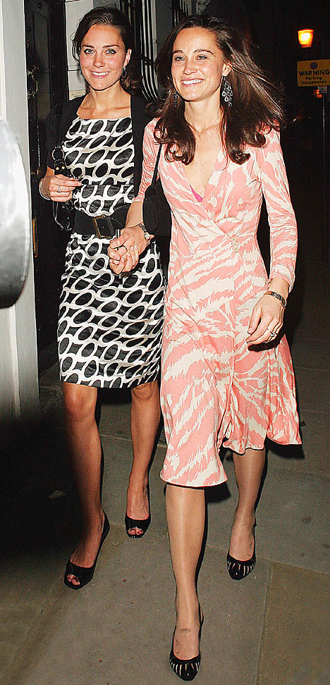 Kate & Pippa Middleton