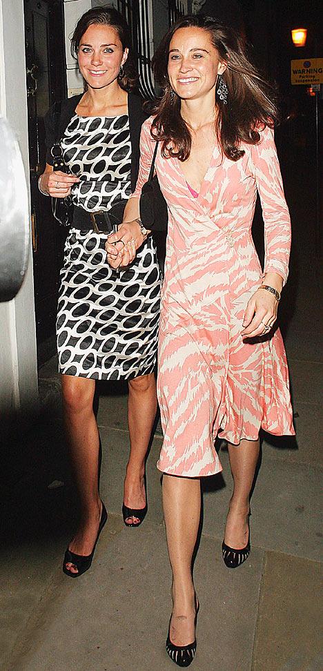 Kate & Pippa Middleton